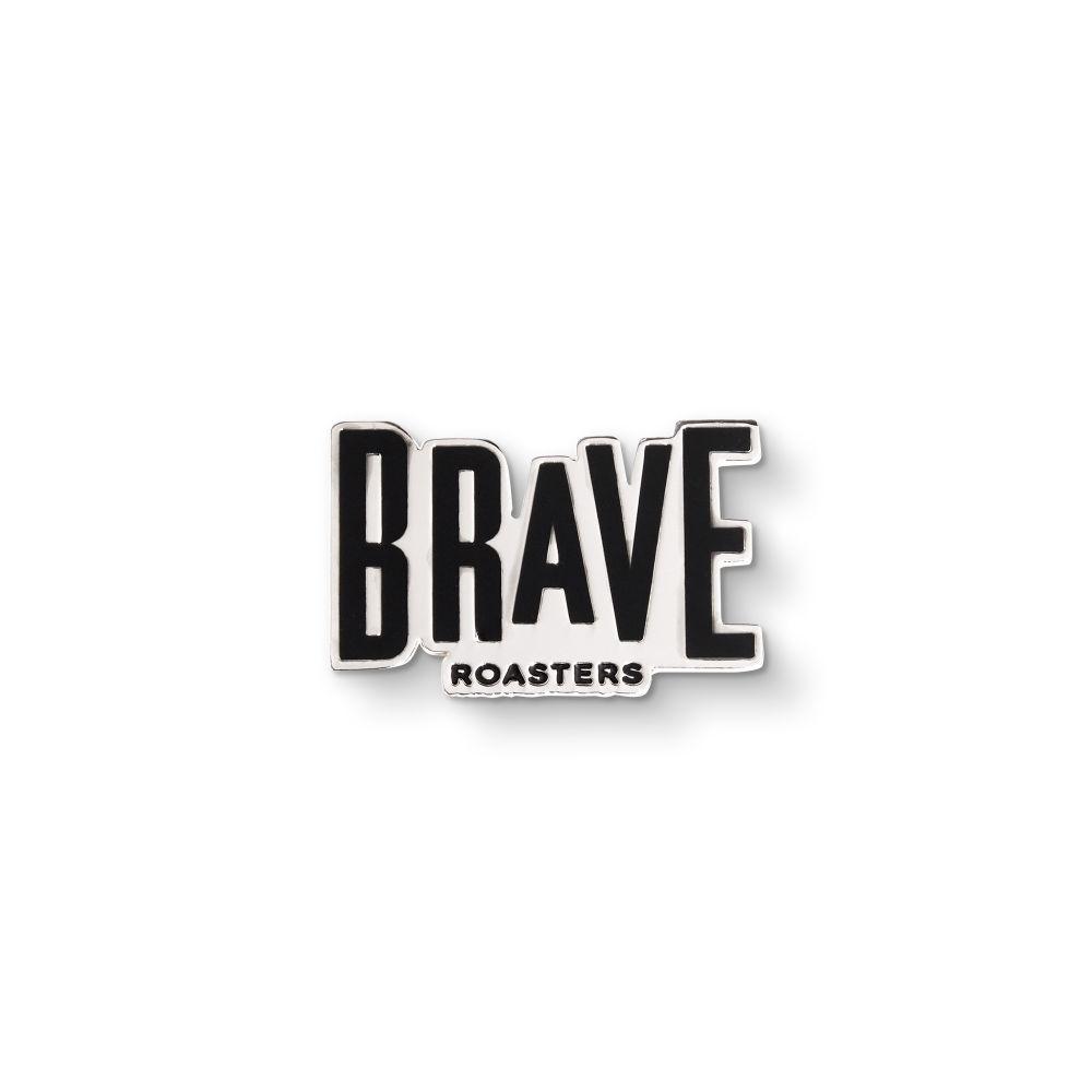 Brave Basic Logo Enamel Pin