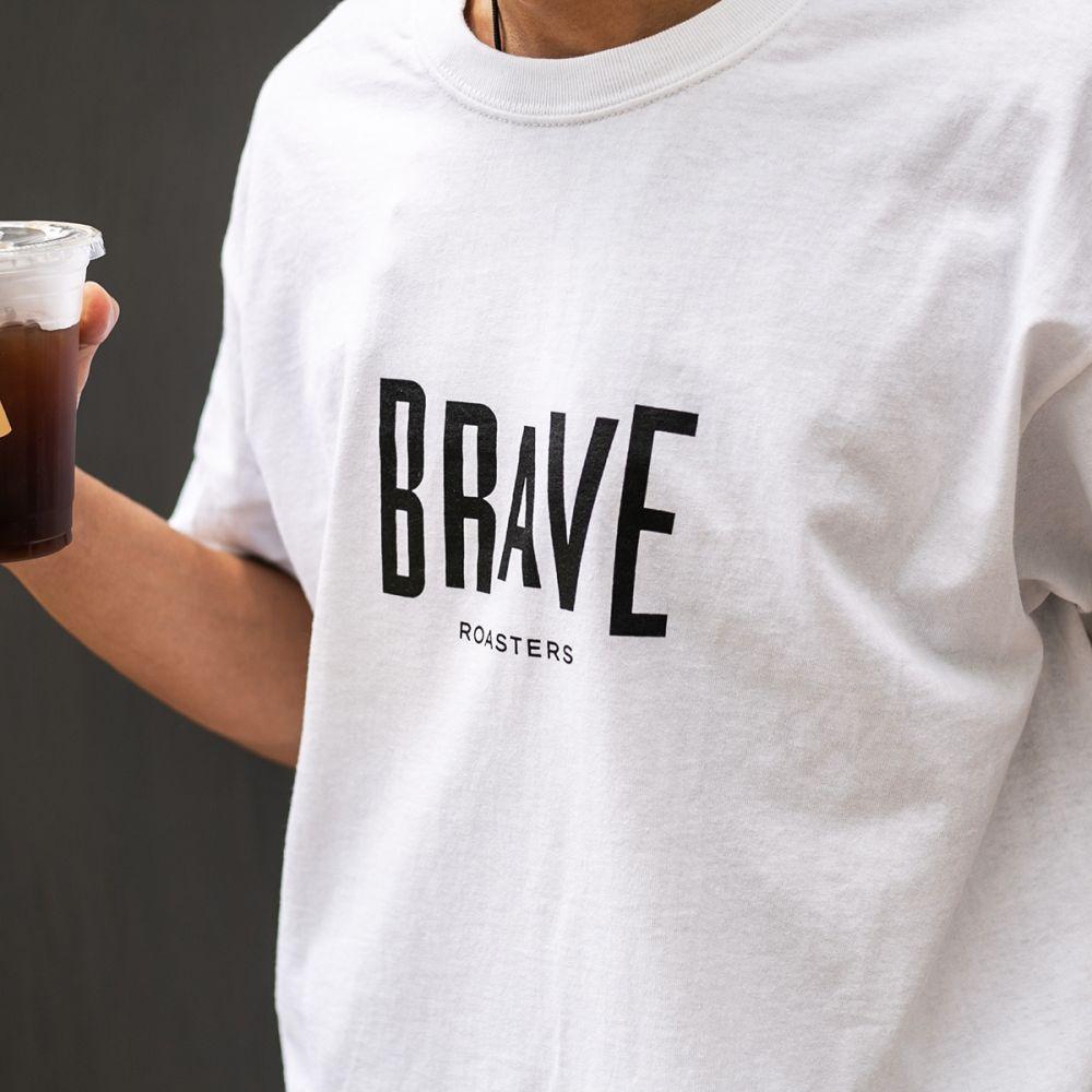 Brave Basic Logo T-Shirt White