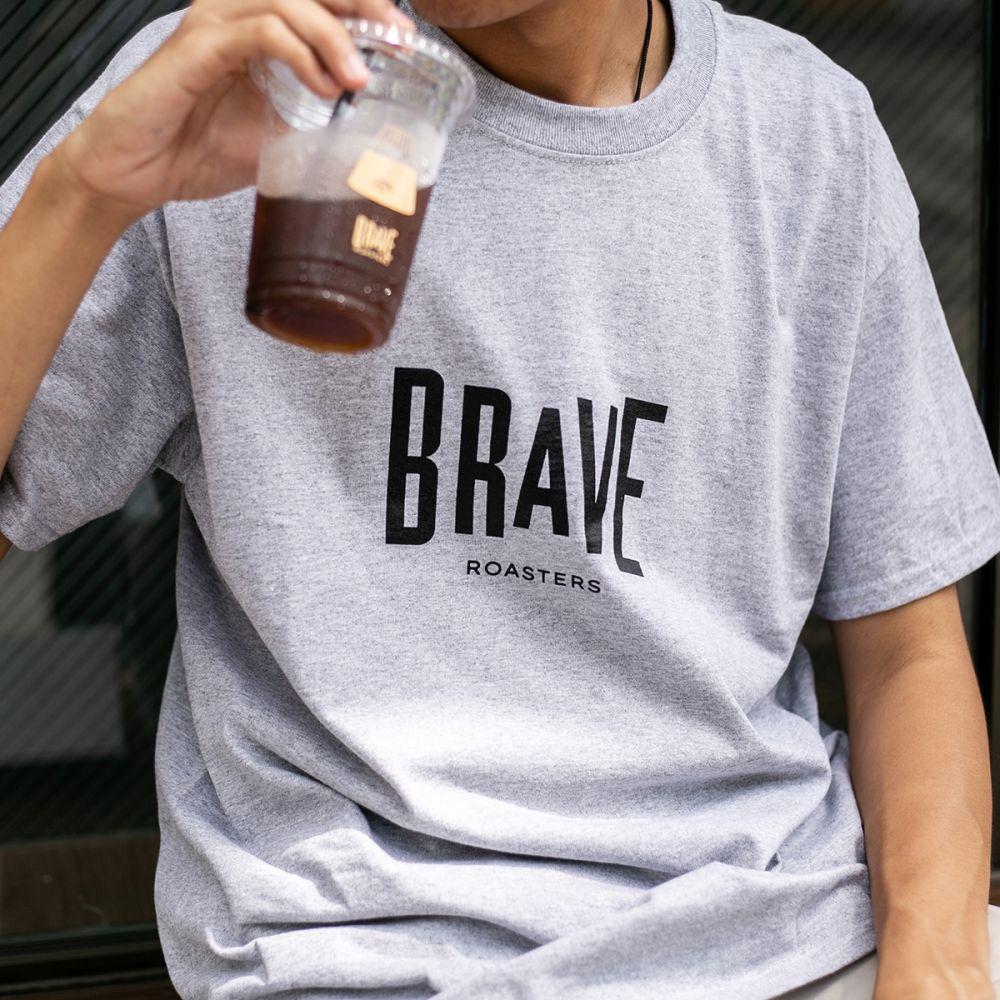 Brave Basic Logo T-Shirt Grey
