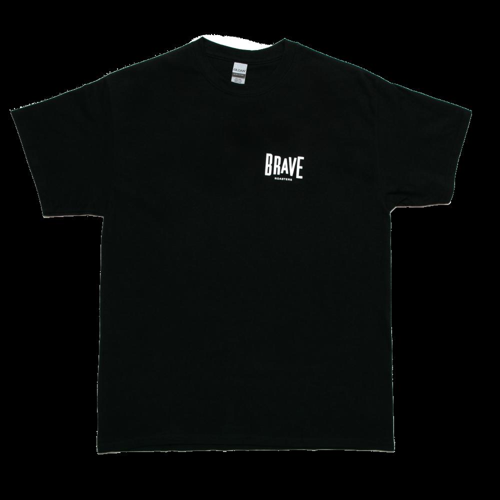 Brave Small Logo T-Shirt Black