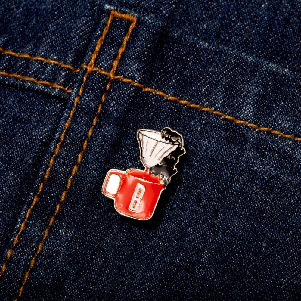 Dripper Enamel Pin