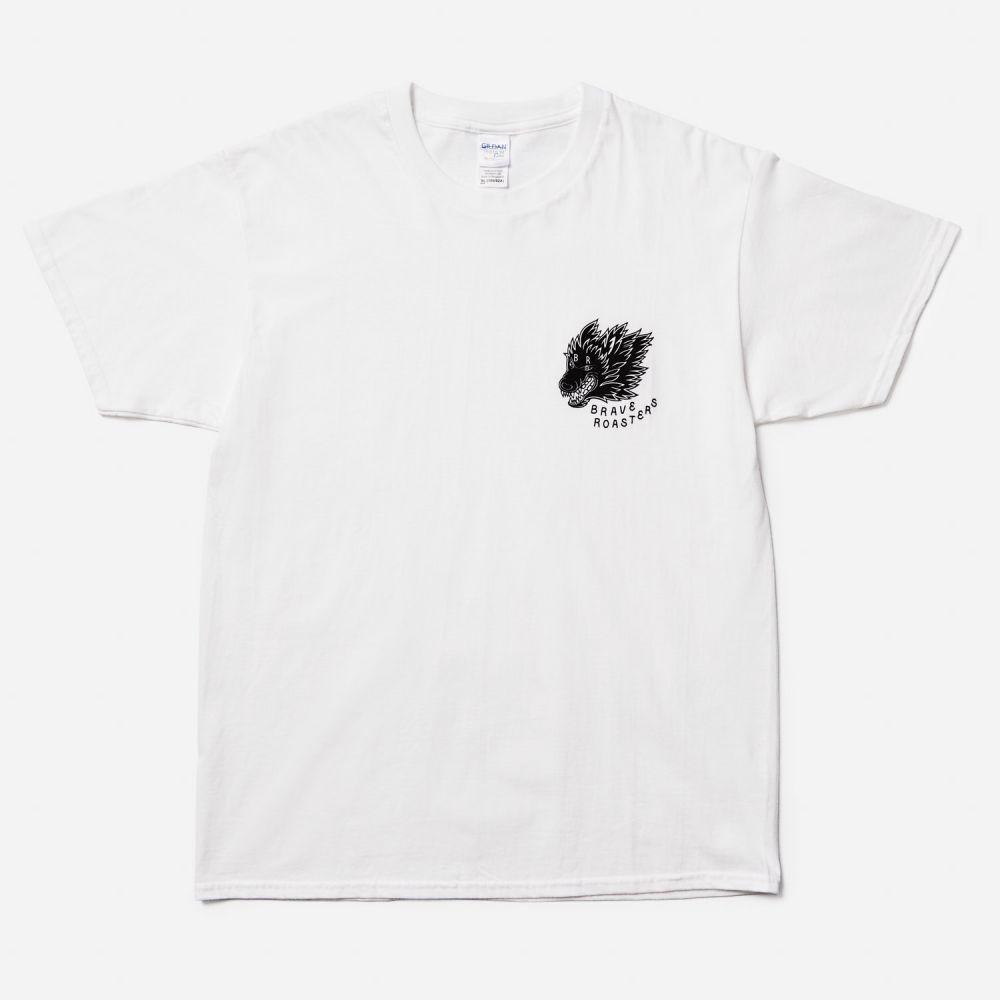 Wolf Logo T-Shirt White