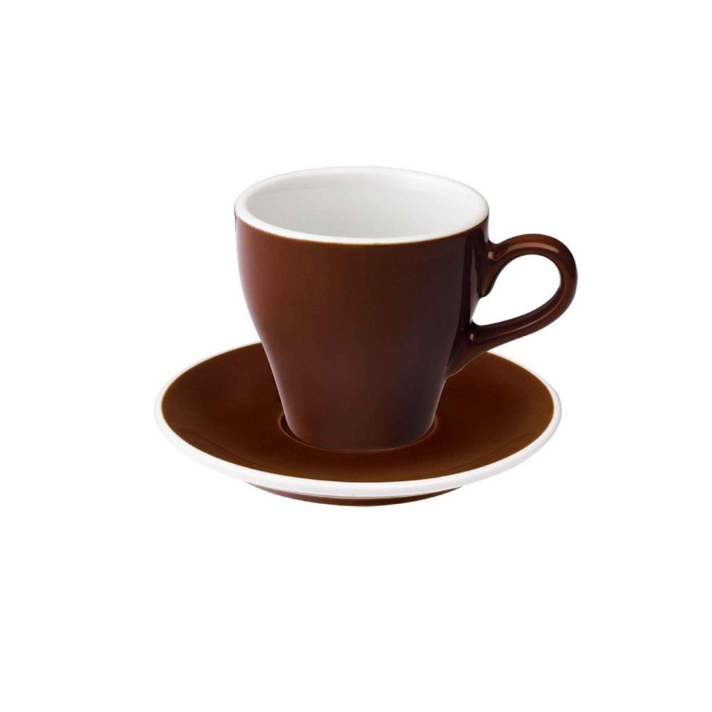 Tulip 280ml Latte Cup & Saucer