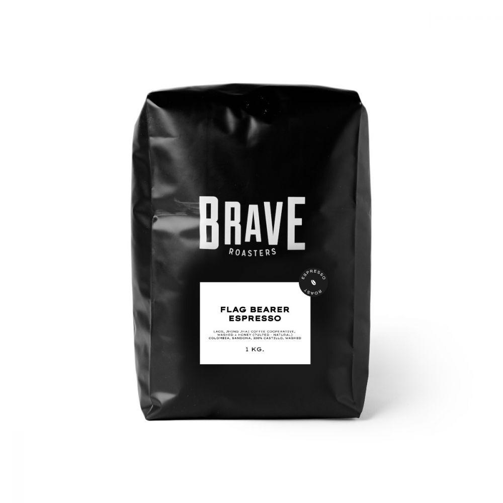 Flag Bearer Espresso 1Kg. Medium Roast