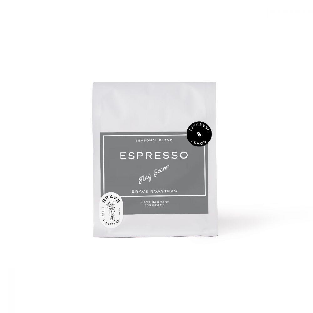 Flag Bearer Espresso 200g. Medium Roast