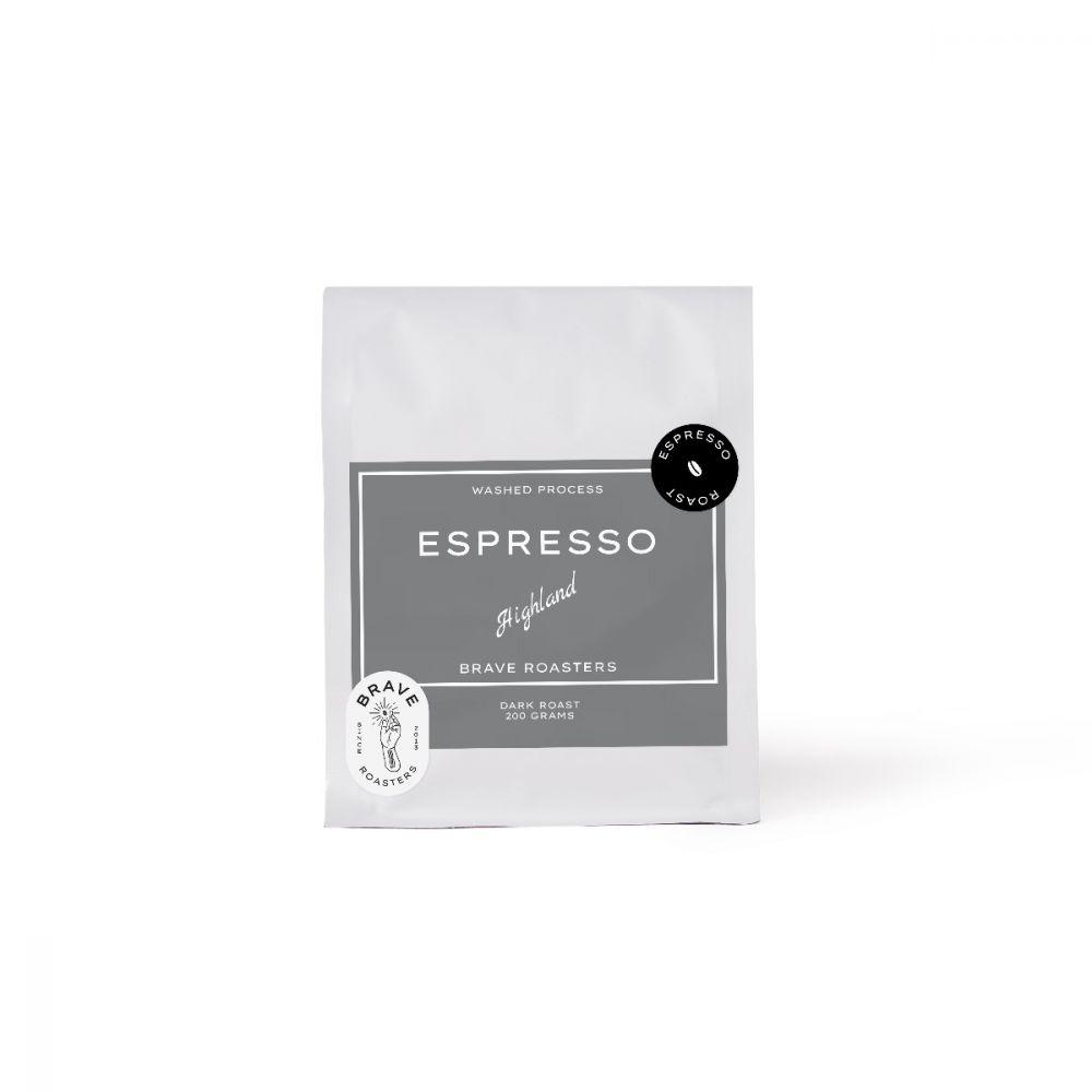 Highland Espresso 200g. Dark Roast