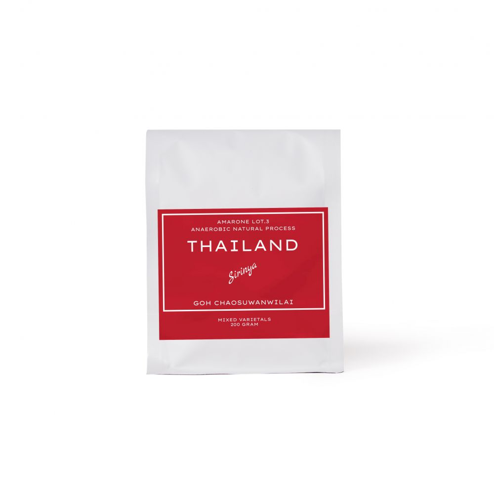 Thailand | SIRINYA, Chiang Rai, Amarone Natural Process Lot.3