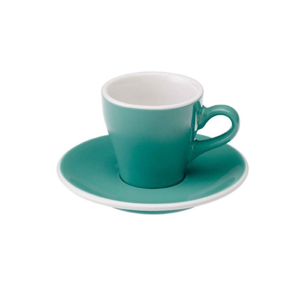 Tulip 80ml Espresso Cup & Saucer