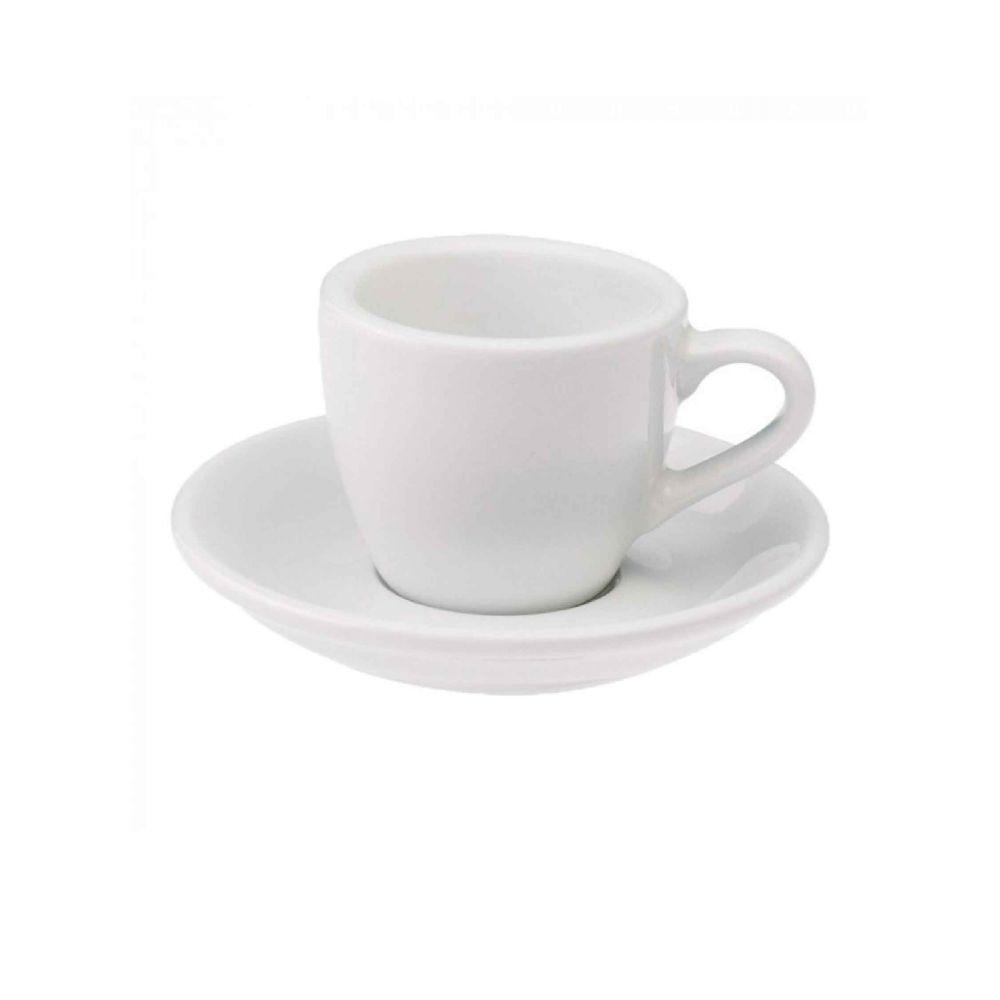 Egg 80ml Espresso Cup & Saucer
